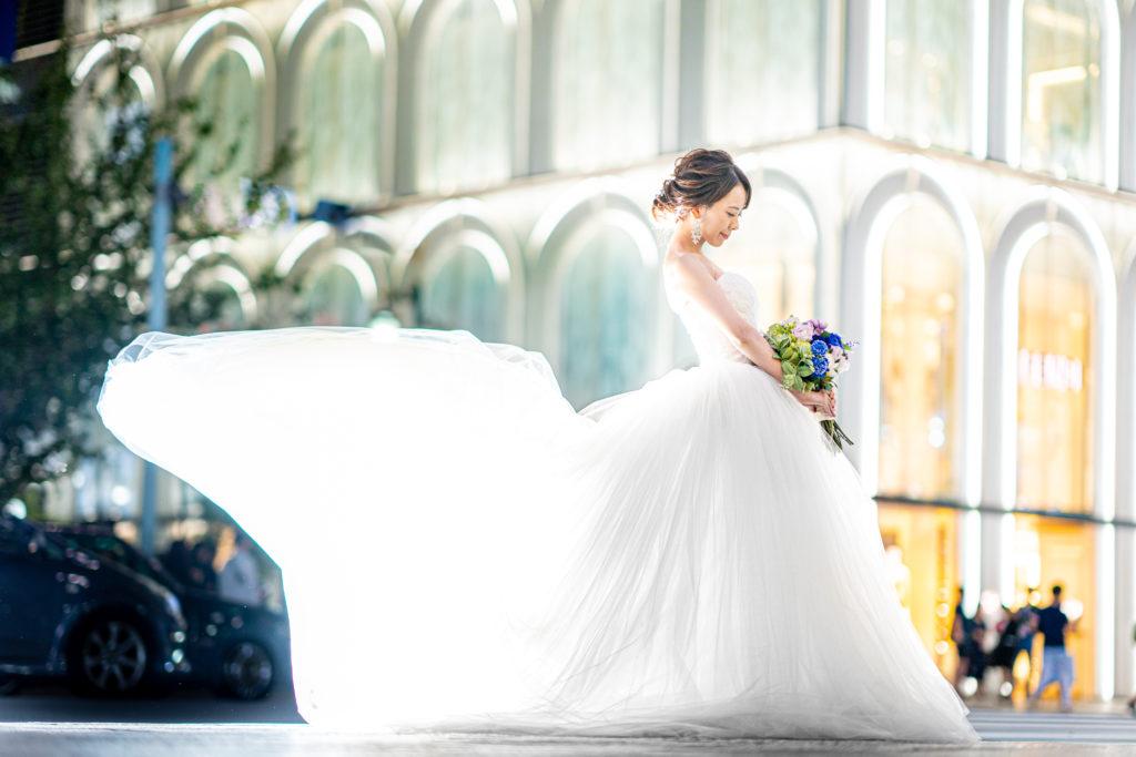 ウェディングフォトグラファー右近倫太郎銀座で花嫁支度の撮影レポート