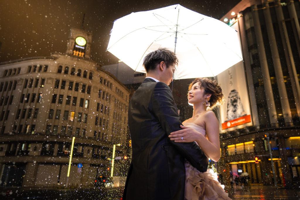 ウエディングフォトグラファー右近倫太郎銀座で花嫁支度の撮影レポート